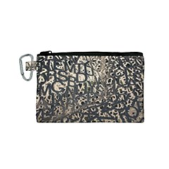 Pattern Design Texture Wallpaper Canvas Cosmetic Bag (small)