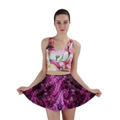 Fractal Art Digital Art Mini Skirt