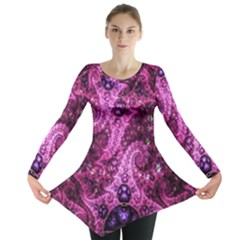 Fractal Art Digital Art Long Sleeve Tunic