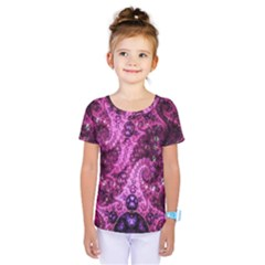 Fractal Art Digital Art Kids  One Piece Tee