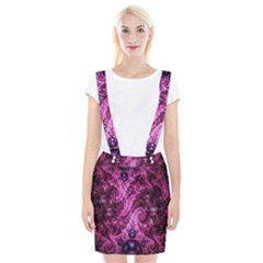 Fractal Art Digital Art Braces Suspender Skirt