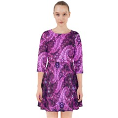 Fractal Art Digital Art Smock Dress