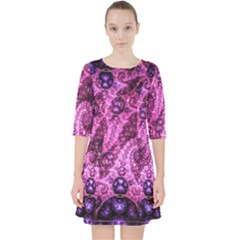 Fractal Art Digital Art Pocket Dress