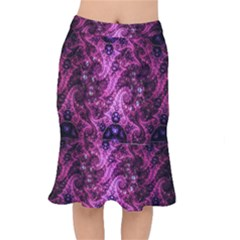 Fractal Art Digital Art Mermaid Skirt