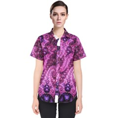 Fractal Art Digital Art Women s Short Sleeve Shirt