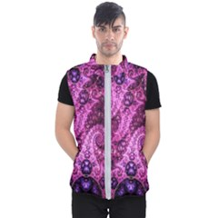 Fractal Art Digital Art Men s Puffer Vest