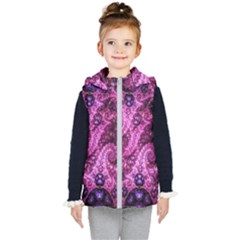 Fractal Art Digital Art Kid s Puffer Vest