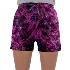 Fractal Art Digital Art Sleepwear Shorts