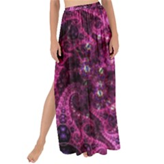 Fractal Art Digital Art Maxi Chiffon Tie Up Sarong