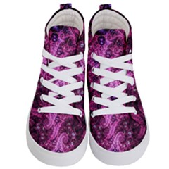 Fractal Art Digital Art Kid s Hi Top Skate Sneakers