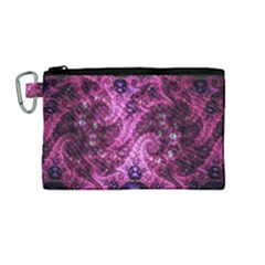 Fractal Art Digital Art Canvas Cosmetic Bag (medium)
