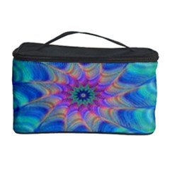 Fractal Curve Decor Twist Twirl Cosmetic Storage Case