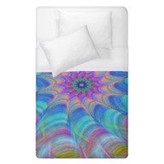 Fractal Curve Decor Twist Twirl Duvet Cover (single Size)