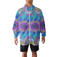 Fractal Curve Decor Twist Twirl Wind Breaker (kids)