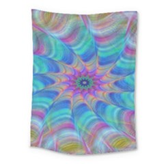 Fractal Curve Decor Twist Twirl Medium Tapestry