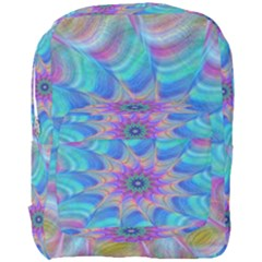 Fractal Curve Decor Twist Twirl Full Print Backpack