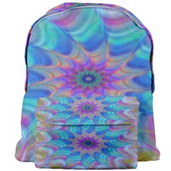 Fractal Curve Decor Twist Twirl Giant Full Print Backpack