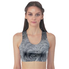 Abstract Art Decoration Design Sports Bra