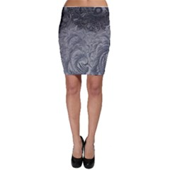 Abstract Art Decoration Design Bodycon Skirt