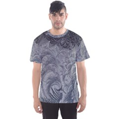Abstract Art Decoration Design Men s Sports Mesh Tee