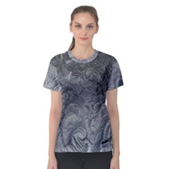 Abstract Art Decoration Design Women s Sport Mesh Tee