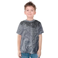 Abstract Art Decoration Design Kids  Cotton Tee