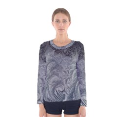 Abstract Art Decoration Design Women s Long Sleeve Tee