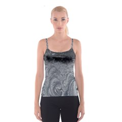 Abstract Art Decoration Design Spaghetti Strap Top