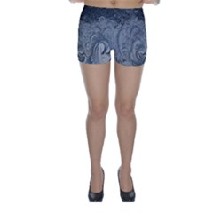 Abstract Art Decoration Design Skinny Shorts