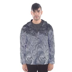 Abstract Art Decoration Design Hooded Wind Breaker (men)