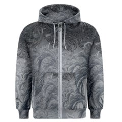 Abstract Art Decoration Design Men s Zipper Hoodie