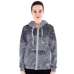 Abstract Art Decoration Design Women s Zipper Hoodie