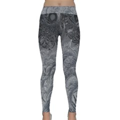 Abstract Art Decoration Design Classic Yoga Leggings