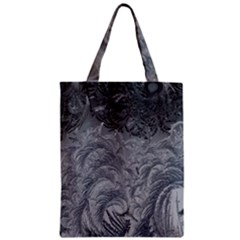 Abstract Art Decoration Design Zipper Classic Tote Bag
