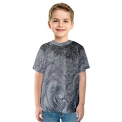 Abstract Art Decoration Design Kids  Sport Mesh Tee