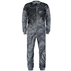 Abstract Art Decoration Design Onepiece Jumpsuit (men)