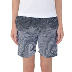 Abstract Art Decoration Design Women s Basketball Shorts