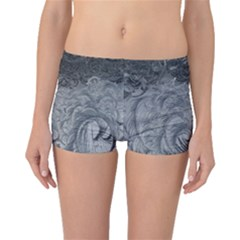 Abstract Art Decoration Design Boyleg Bikini Bottoms