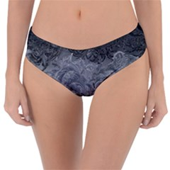 Abstract Art Decoration Design Reversible Classic Bikini Bottoms