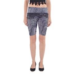 Abstract Art Decoration Design Yoga Cropped Leggings