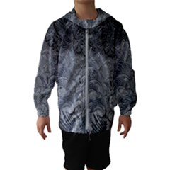 Abstract Art Decoration Design Hooded Wind Breaker (kids)