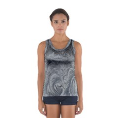 Abstract Art Decoration Design Sport Tank Top