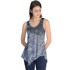 Abstract Art Decoration Design Sleeveless Tunic