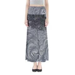 Abstract Art Decoration Design Full Length Maxi Skirt