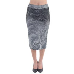Abstract Art Decoration Design Midi Pencil Skirt