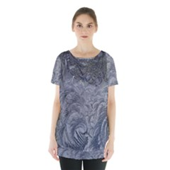 Abstract Art Decoration Design Skirt Hem Sports Top