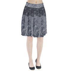 Abstract Art Decoration Design Pleated Skirt