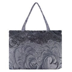 Abstract Art Decoration Design Zipper Medium Tote Bag