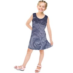 Abstract Art Decoration Design Kids  Tunic Dress