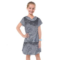 Abstract Art Decoration Design Kids  Drop Waist Dress